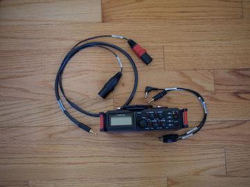 Rent: Tascam DR-70D w/Cables