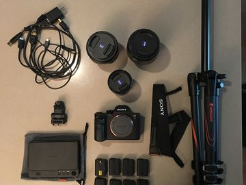 Rent: Sony Alpha a7S II Kit WITH MONITOR & 3 LENSES