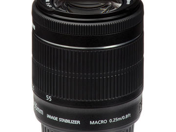 Canon EF-S 18-55 (Macro 0.25m/0.8ft)