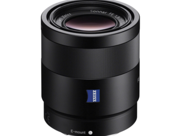 Rent: Sony FE Sonnar T* 55mm f/1.8 Zeiss Lens