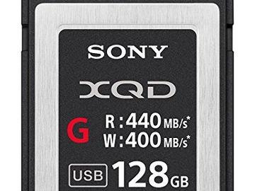 Rent: 3X Sony 128GB XQD G Series Memory Card (400MB/s)