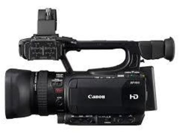Rent: Canon XF100 Package w/wide angle adapter and shotgun mic