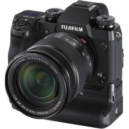 Fujifilm X-H1 With Grip and 16-55mm F/2.8 Lens