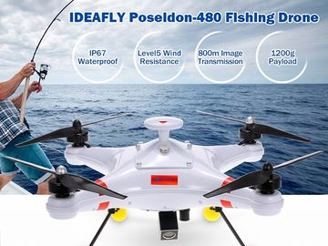 Rent: Ideafly Poseidon 480 Waterproof Drone with HD Action Camera