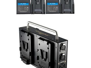 Rent: POWERANGE V MOUNT Battery Package (4Batt/ 1Quad Charger)