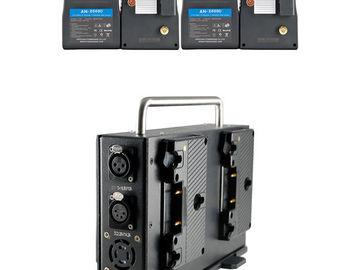 Rent: POWERANGE Gold MOUNT Battery Package (4Batt/ 1Quad Charger)