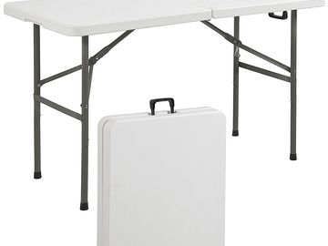 Rent: (1) 4ft Folding Table