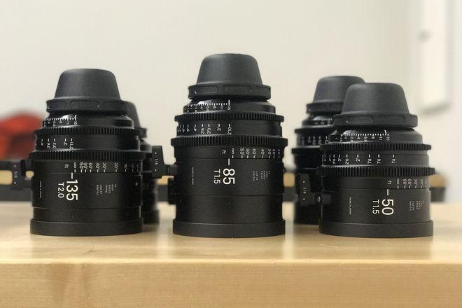 Sigma Cine FF High Speed Primes -- 2 Lens Set -- PL Mount