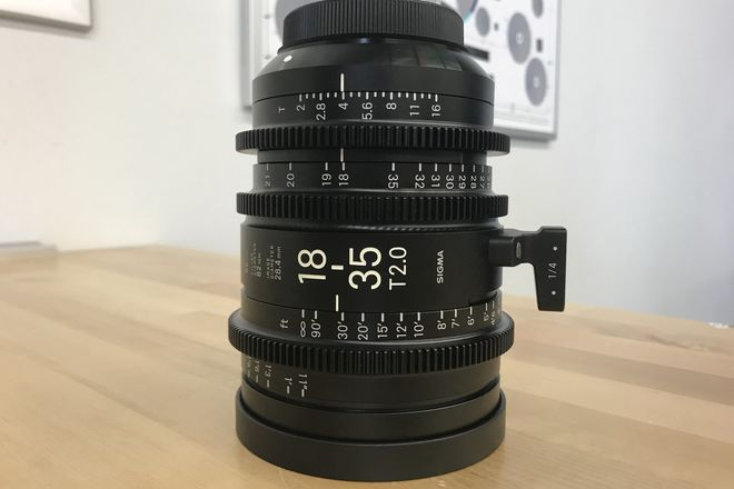 Sigma Cine 18-35mm T2 High Speed Zoom Lens (EF Mount)