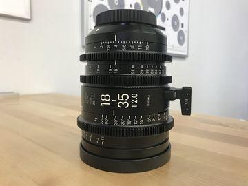 Rent: Sigma Cine 18-35mm T2 High Speed Zoom Lens (EF Mount)