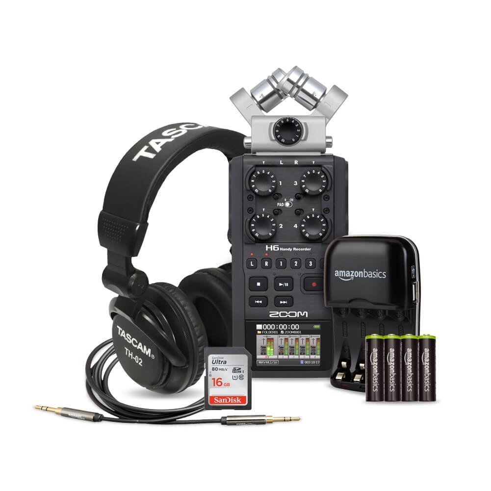 Rent a Zoom H6 Six-Track Portable Recorder + Rode Boom + EXTRAS, Best  Prices | ShareGrid Los Angeles
