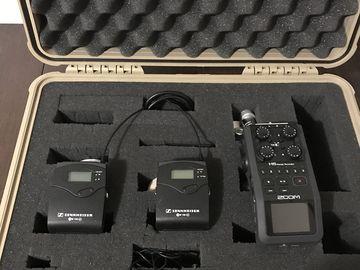 2x Sennheiser G3 Lavalier Mic and Zoom H6 Kit