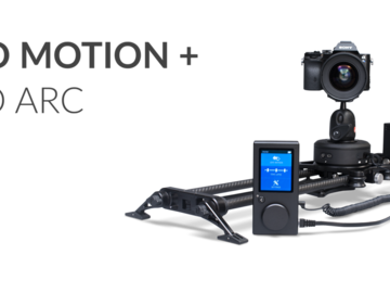 "Rent: Rhino EVO 24"" Motorized Slider + Arch"