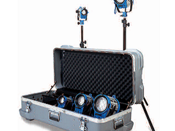 Rent: Arri Tungsten Lighting Kit