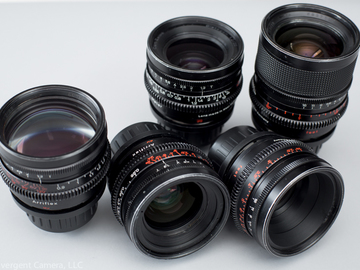 Zeiss Super Speed MkII 5 Lens Set T1.3 (18, 25, 35, 50, 85)