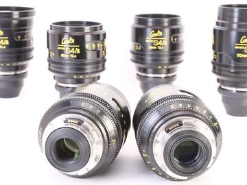 Rent: Cooke S4/i 6 MINI Prime Lens Set FREE DELIVERY