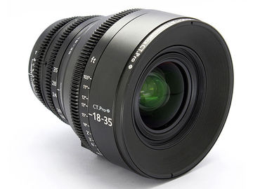 Rent: Sigma 18-35 f1.8 EF Cinematics Cinema Lens