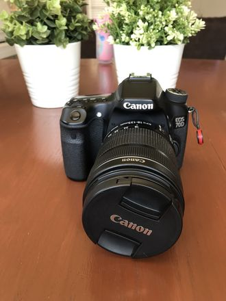 Canon EOS 70D with 18-135 STM Lens