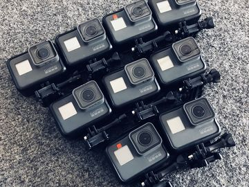 Rent: 9x GoPro Hero 5 Camera Package