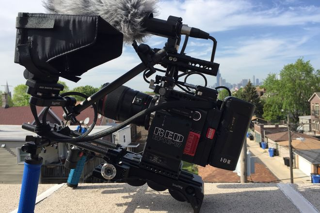 RED Epic-W Helium Package: POWER/ MAGS/SHOULDER RIG