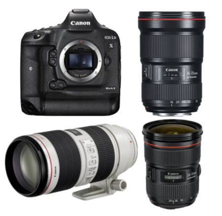 Canon 1DX-MKii (4K) - Complete Photo/Video Package