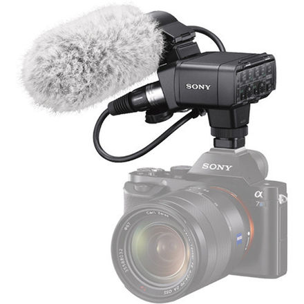 Sony XLR-A1M XLR Adapter Kit with Microphone