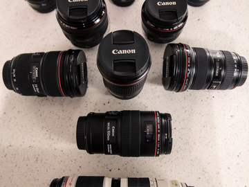 Rent: Canon L-Series Essentials | 7 Primes & 3 Zooms