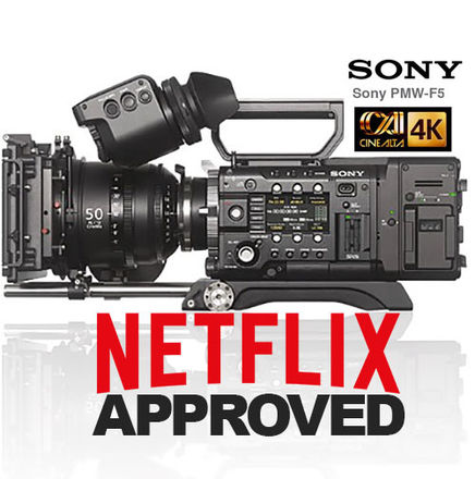Sony PMW-F5 CineAlta Digital Cinema 4K *NETFLIX approved*