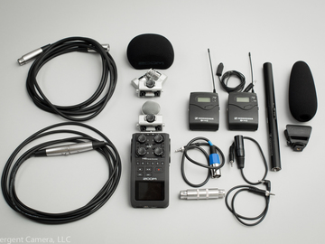 Audio Package / Zoom H6 / Shotgun Mic / Lav Mic