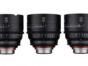 Rent: Rokinon Xeen Lens Set (14,24,50,85mm)