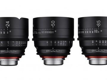 Rokinon Xeen Lens Set (14,24,50,85mm)