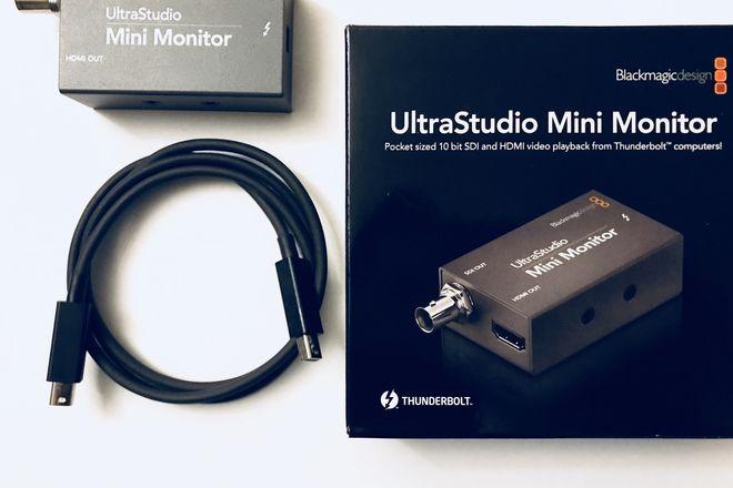 Blackmagic Design UltraStudio Mini Monitor W/TB2 Cable