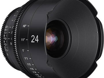 Rent: Rokinon Xeen 24mm Lens (EF mount)