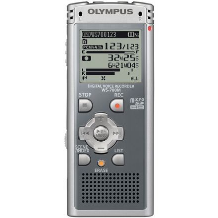 Olympus Digital Recorder with ME-15 Tie Clip Microphone