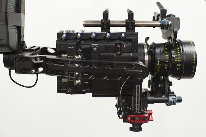 DJI Ronin w/ Cinemilled Extensions