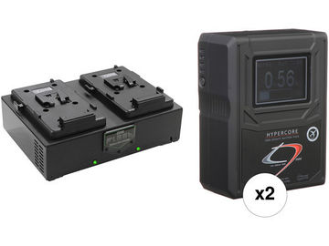 Rent: Core SWX  (2) HC9 V-Mount Battery and Dual Charger Kit