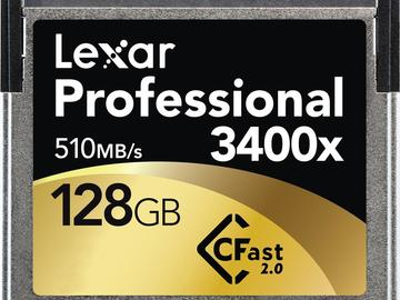 Rent: CFast 2.0 128GB Card (2 of 2)