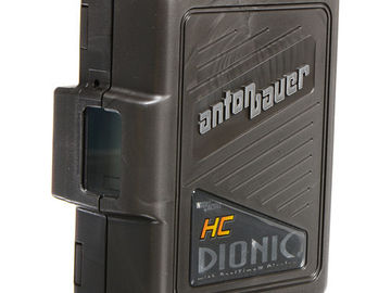 Rent: (4) Anton Bauer Dionic HC 90 Camera Batteries w/Quad Charger
