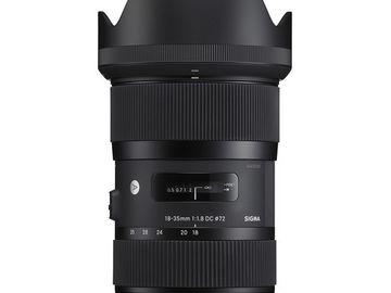 Rent: Sigma 18-35mm f/1.8 DC HSM Art EF mount