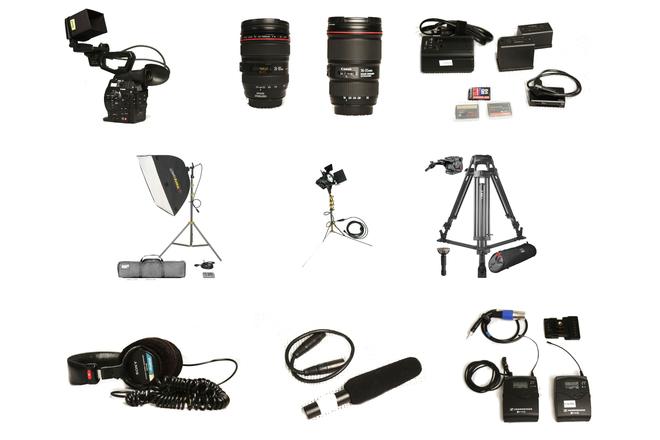 *** Canon C300 Full Video Production Kit ***