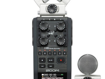 Rent: Zoom H6 Handy Recorder with Protective Case