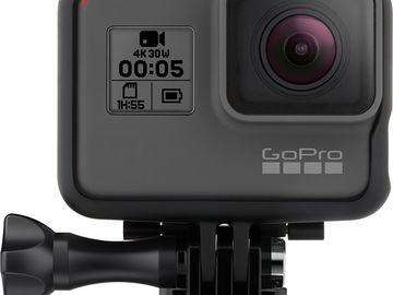 Rent: GoPro HERO5 Black, 2 batts + car/window mount kit