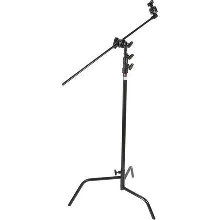 Matthews C-stand with Arm, Black & Two Sandbags