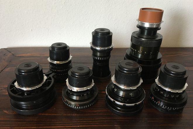 Lomo Spherical PL 7 Lens Set (18, 22, 28, 35, 50, 75, 200)