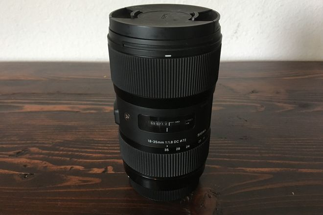 Sigma ART 18-35 f1.8 Zoom for Canon EF