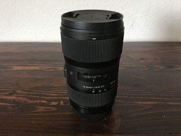 Rent: Sigma ART 18-35 f1.8 Zoom for Canon EF