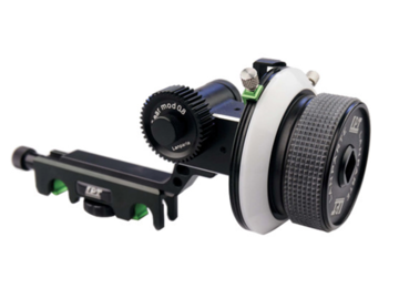 Rent: LanParte Follow Focus V2 w/ Hard Stops for 15mm Rods