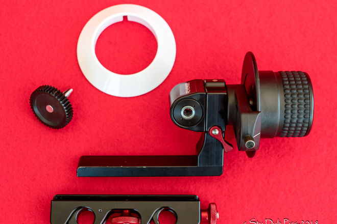 Petroff Mini Follow Focus - Built in Reversing Gear