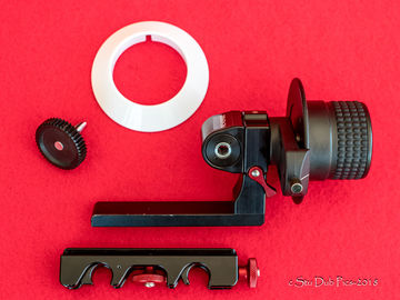Rent: Petroff Mini Follow Focus - Built in Reversing Gear