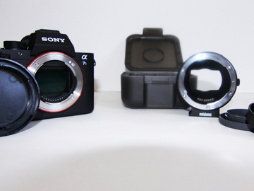 Rent: Sony a7sii with Metabones Canon adapter